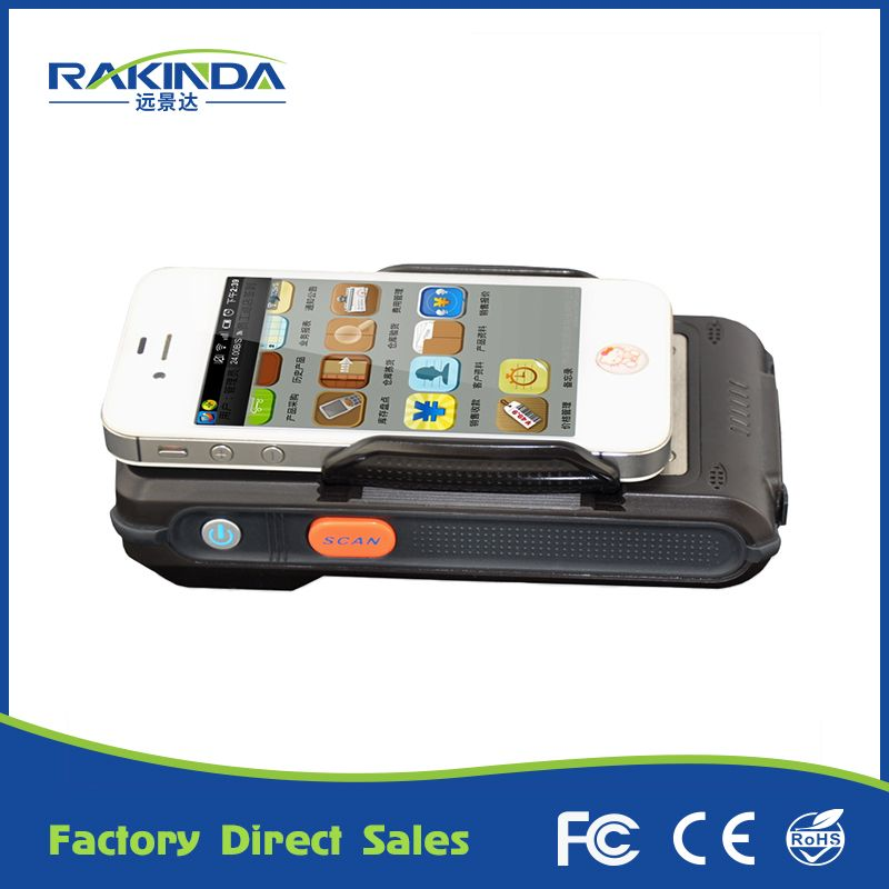 HF RFID Reader1D 2D Barcode Scanner Portable Multi Functional