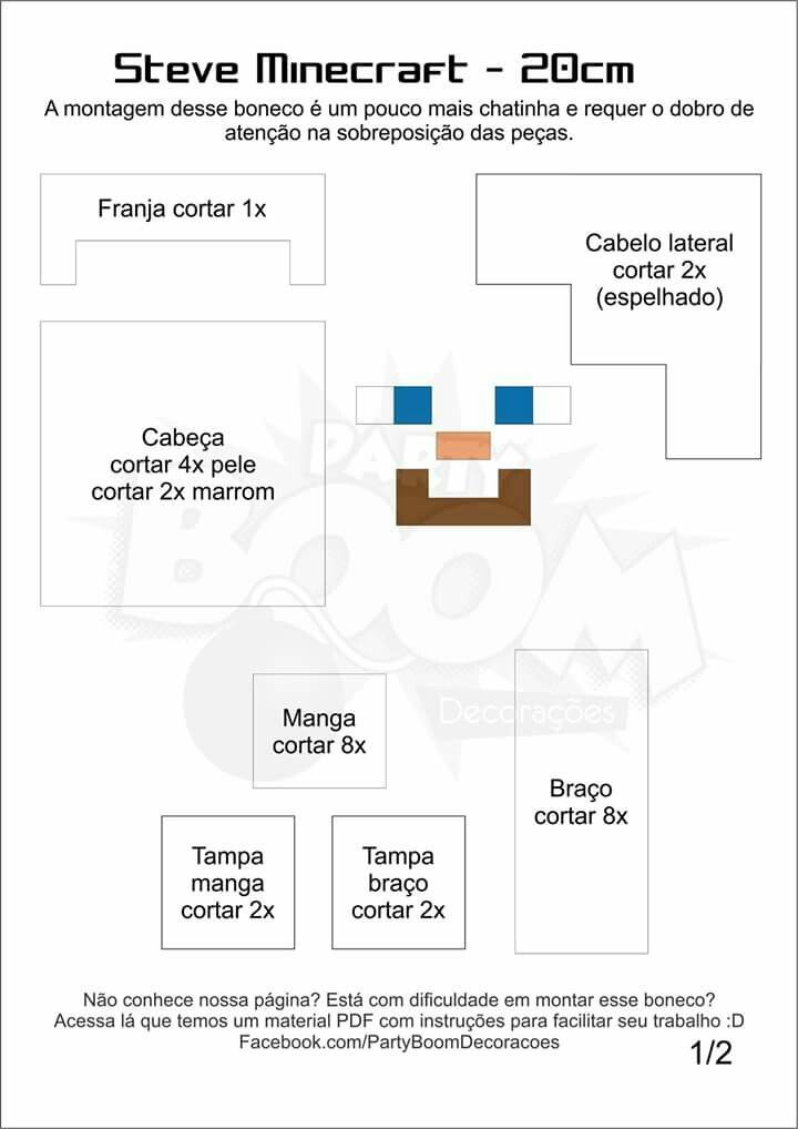 Minecraft | fieltro | Pinterest | Fieltro, Moldes y Feltro