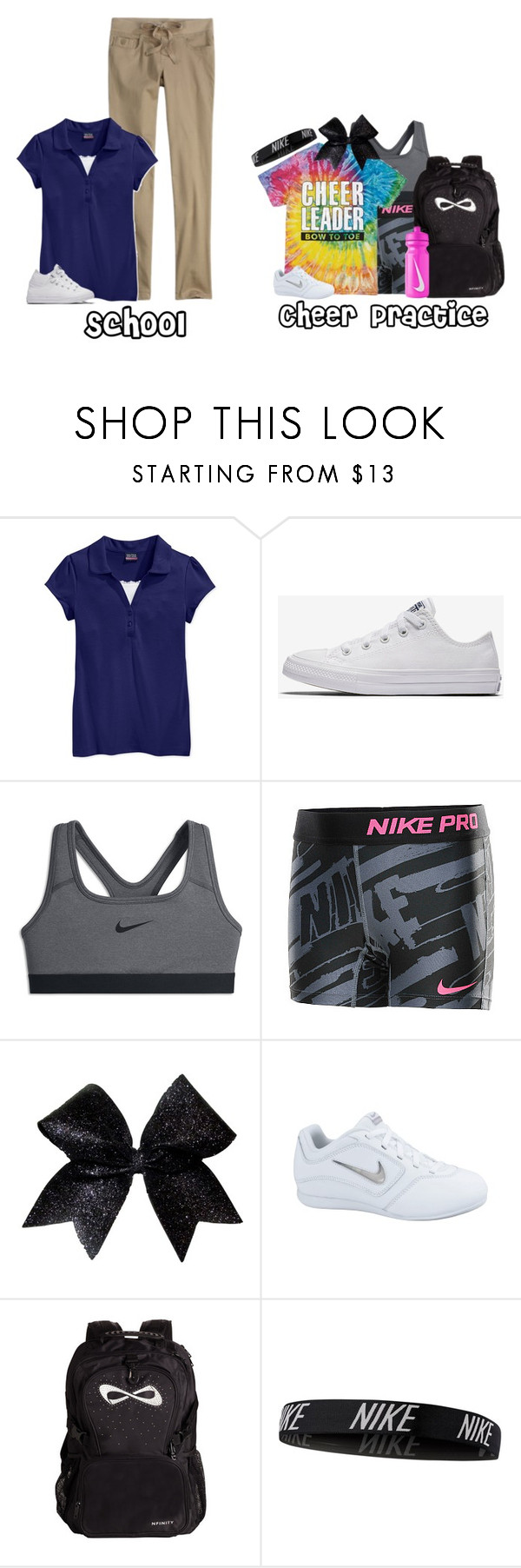 """""""School + Cheer Practice 