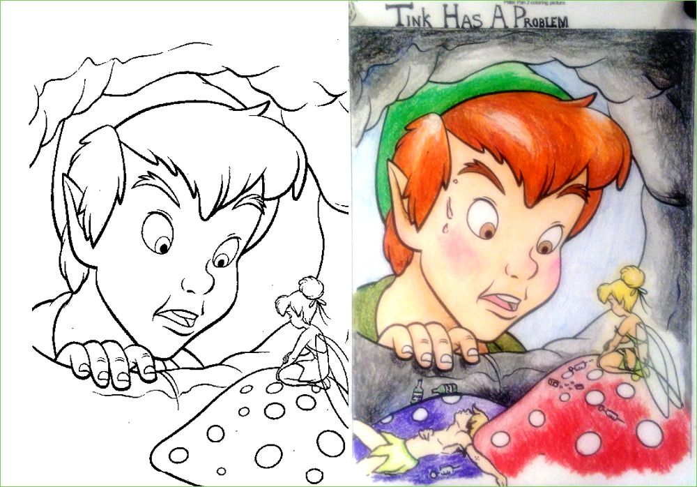 Guest Post Tink S Weakness Corrupt Coloring Book Coloring Books Funny Comics