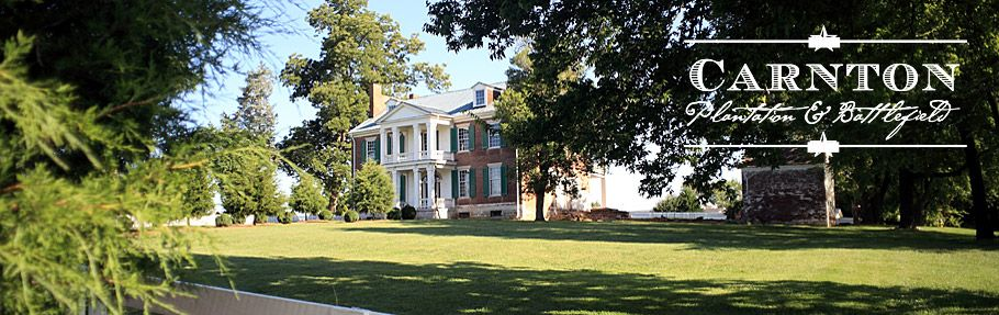 Carnton Plantation, Franklin, TN used as a field hospital during the Civil War battle for Franklin. Also the inspiration for the book, Widow of the South.This is such a beautiful home, so surreal to walk thru thus piece of Civil War history