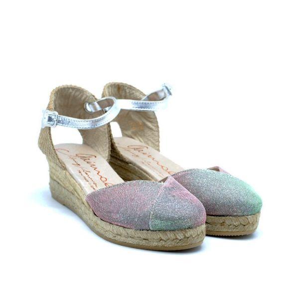 A must have in your getaway wardrobe.  #GAIMOEspadrilles #SpringSummer 2015. GAIMO SS15 Copa Metallic Sandals | Spanish Fashion - SPANISH SHOP ONLINE | Spain @ your fingertips