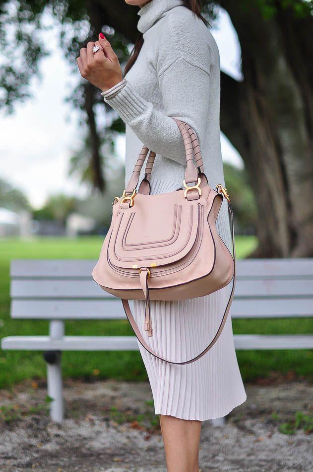 b253b31cc Blush Nude Chloe Marcie bag | My Style in 2019 | Chloe marcie bag ...