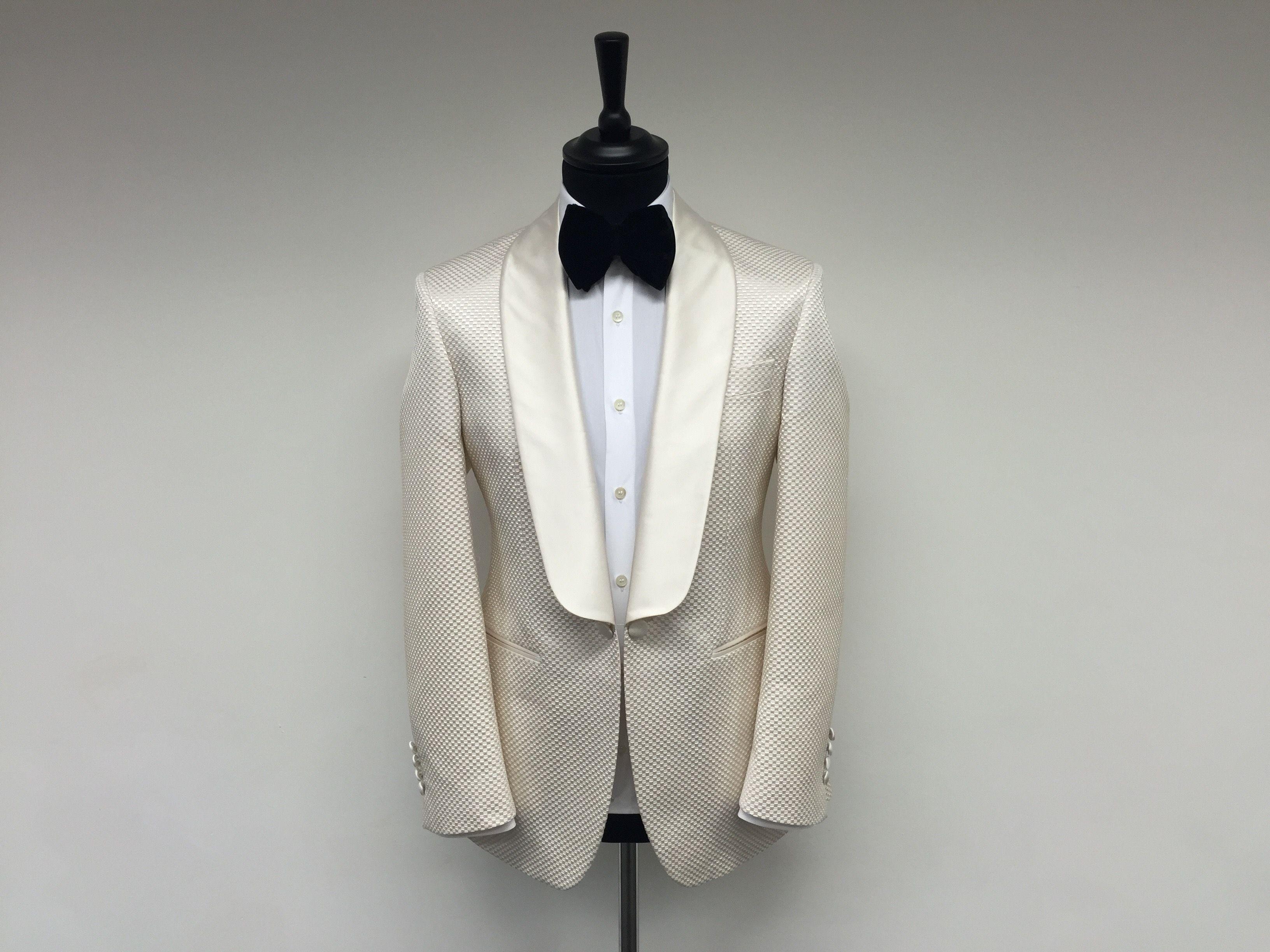 Marcel Ivory Tuxedo Blazer #KabiruAbu #bespoke #savilerow #tailored ...