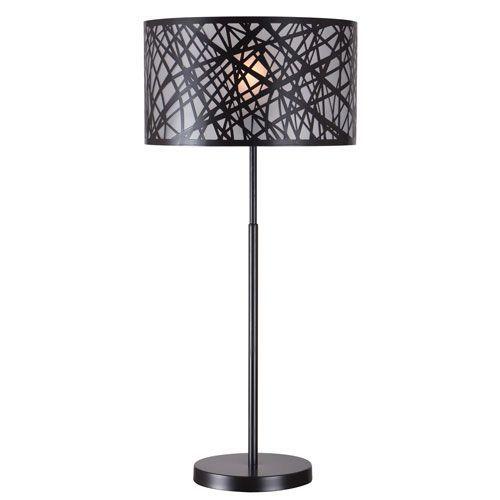 Bramble Black One Light Table Lamp Table Lamp Black Table Lamps Lamp