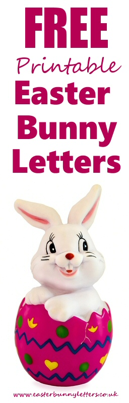graphic regarding Letter From the Easter Bunny Printable titled Absolutely free Customized Printable Easter Bunny Letters - this is