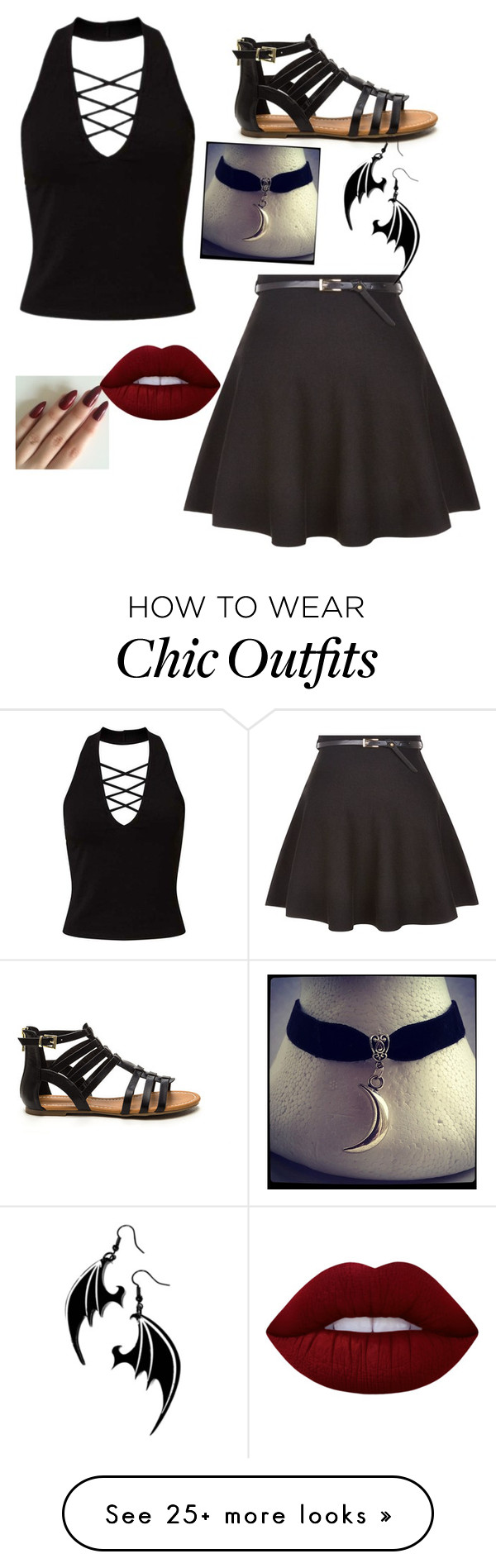 """""""#1"""" by dionedipsauce on Polyvore featuring Miss Selfridge, New Look and Lime Crime"""