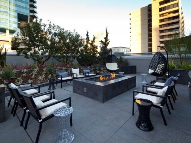 Los angeles ca apartment photos apex the one - Bedroom furniture sets los angeles ...