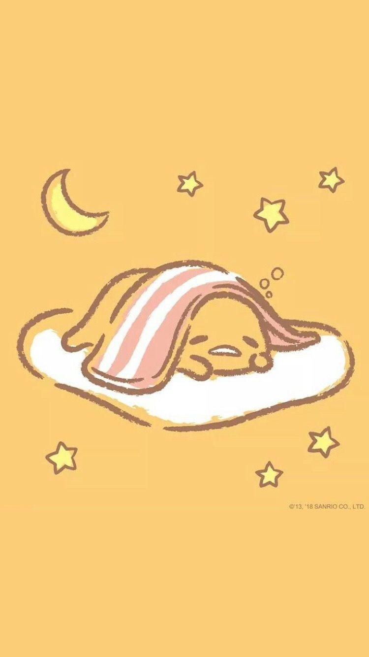 gudetama the egg anime Sanrio wallpaper, Cartoon