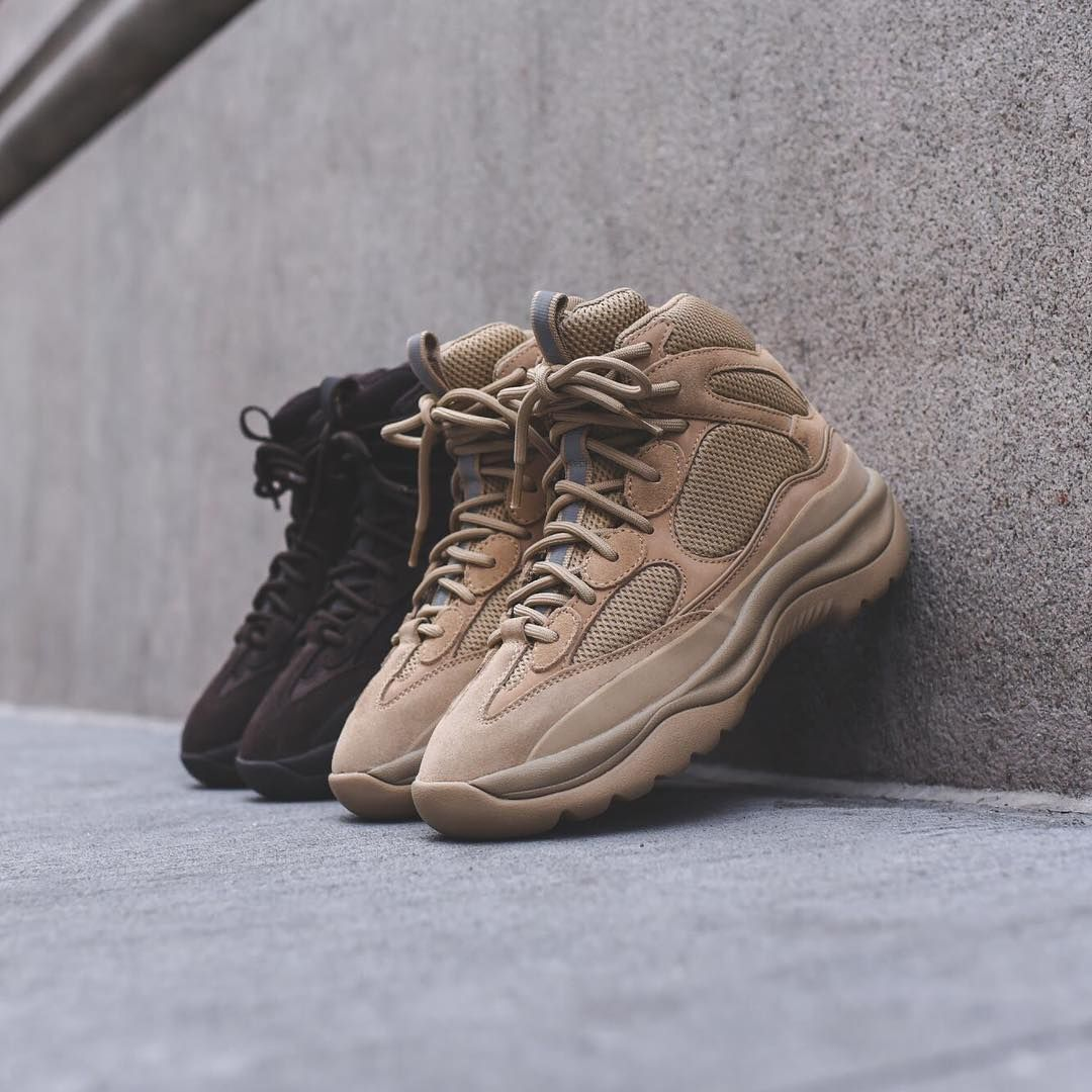 Yeezy Desert Boot Pack. Available at Kith SoHo, Kith