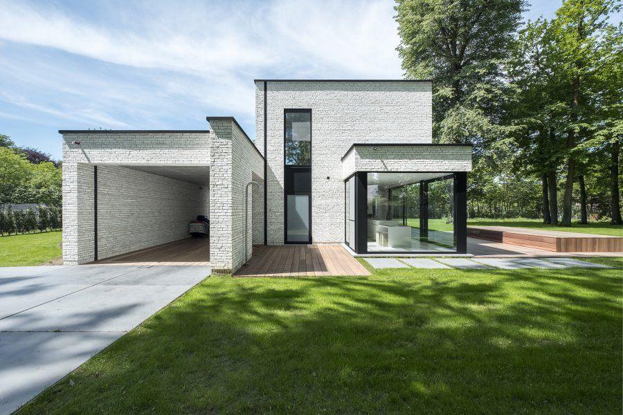 Architectenburo anja vissers hedendaagse architectuur villa