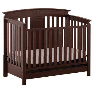STATUS Brookfield Series 800 Stages Crib - Espresso | Boys Room ...