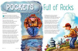 Pockets Full of Rocks | Kids poems, Fhe lessons, Forgiveness lesson