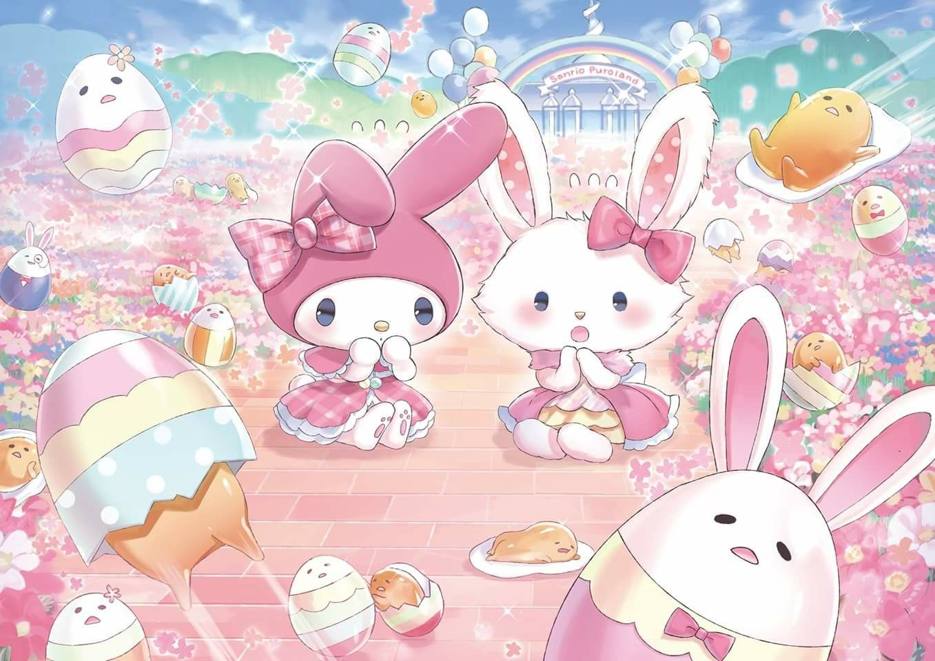 My Melody et Wish me Mell | Melody hello kitty, Hello ...