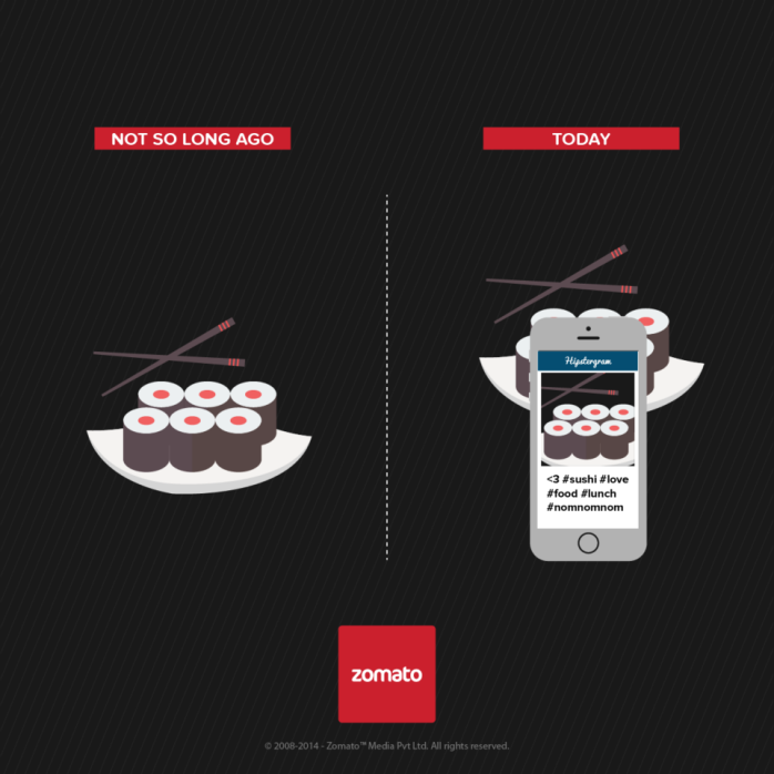 Times are changing ... new campaign by Zomato
