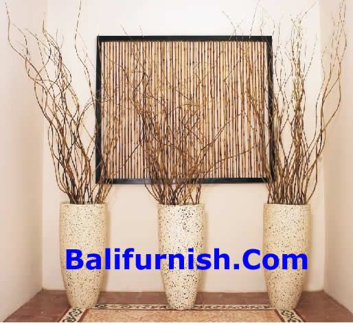 Bamboo Sticks Decoration Ideas ~ Decorating with sticks and twigs leaves ribs palm