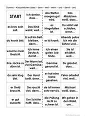 Weil Sätze Arbeitsblatt - Kostenlose DAF Arbeitsblätter ...