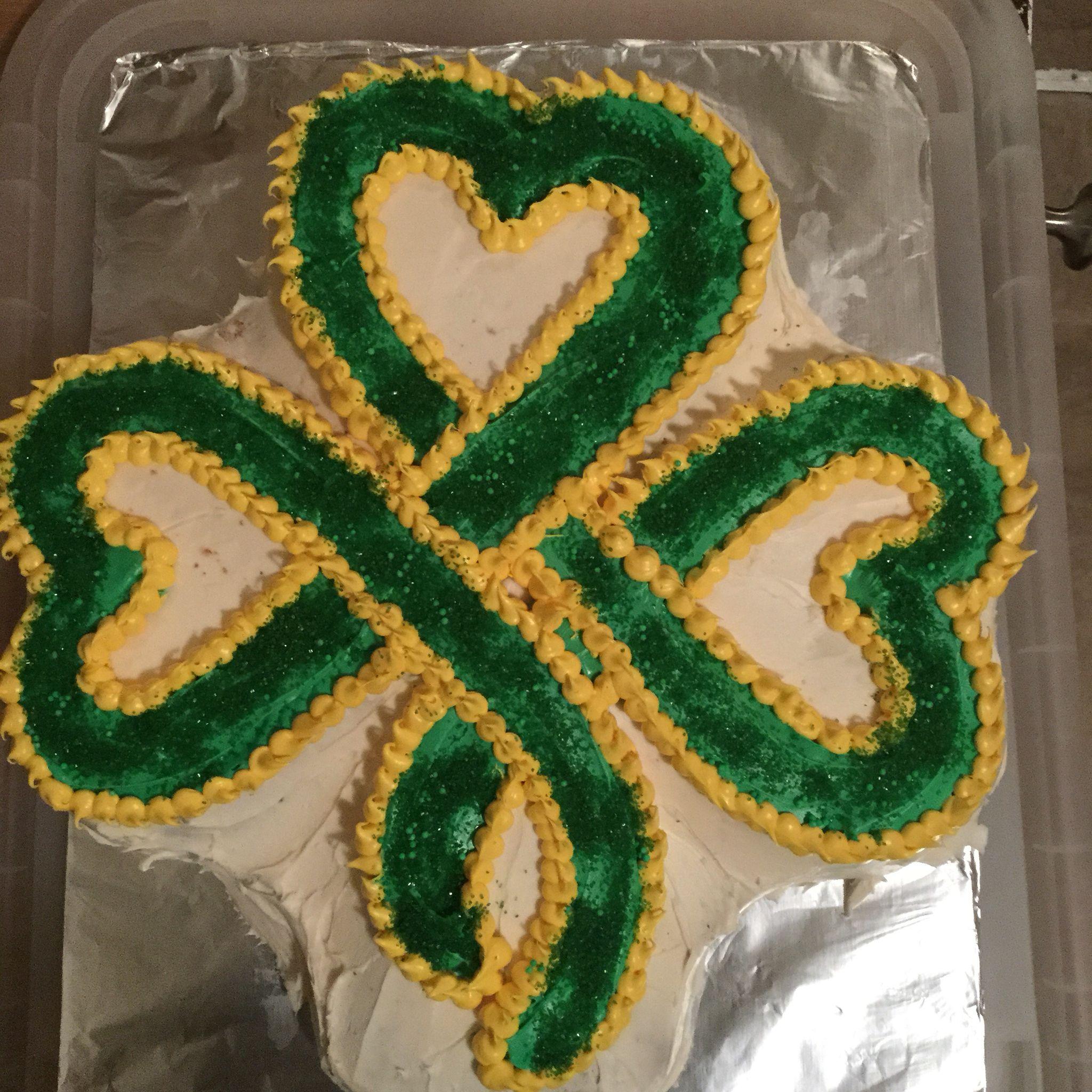 Shamrock Cake Pan Celtic Clover Cake Pans Baking Cake