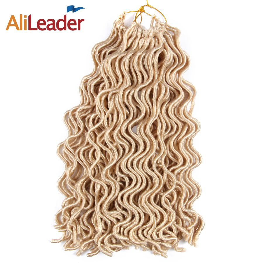 Alileader hair product light weight soft faux locs crochet hair