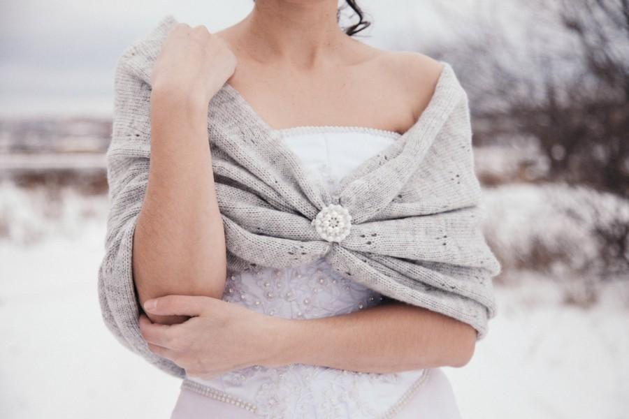 Winter Wedding Shawl Bridal Accessories Bridesmaid