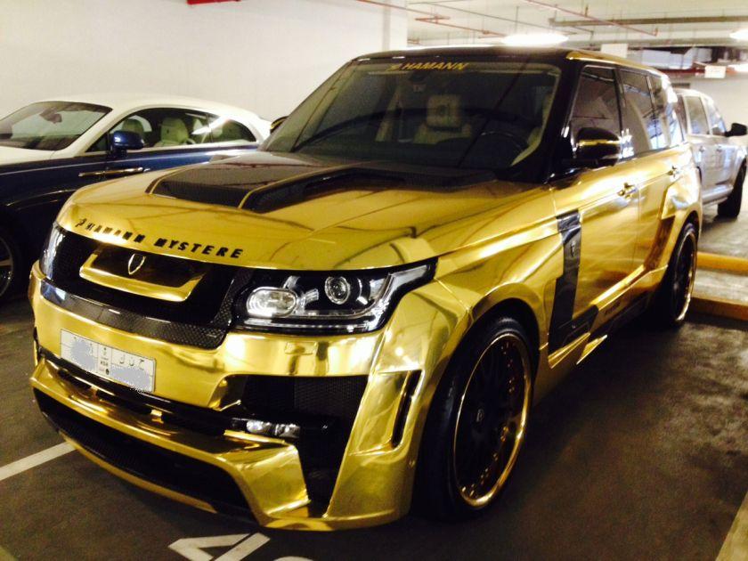 gold suv  dubai car pictures pinterest suvs   dubai