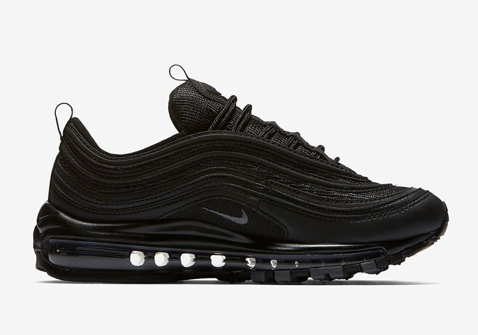 Mens Nike Air Max 97 Plus TN Sneakers Triple Black – ABE