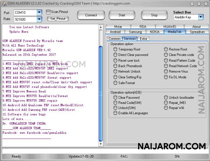 V2 ALADDIN 1.42 GSM TÉLÉCHARGER