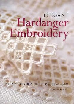 Elegant Hardanger Embroidery.  I bought this book to learn some of the more complicated stitches in Hardanger and I really like it.  Great book.  This lacy edge is beautiful for a project.