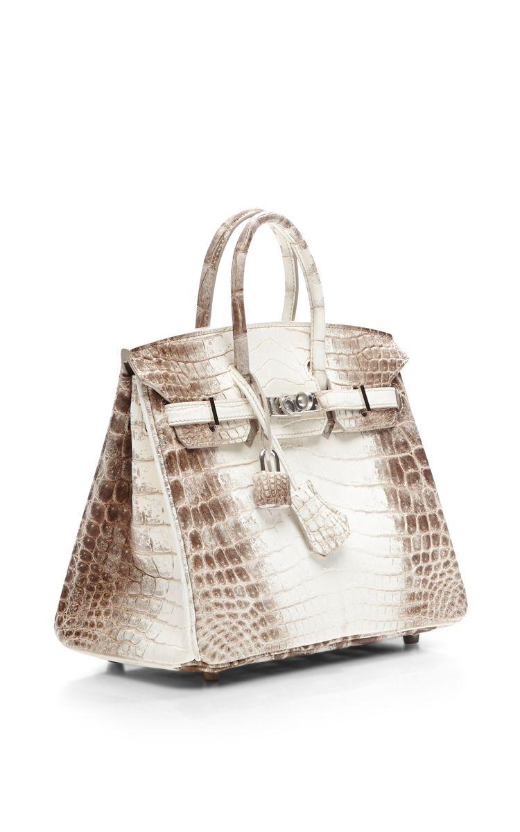 1a6e0dc3ce7 Himalayan Matte Nilo Crocodile 25cm Hermes Birkin Bag  designer   beautyinthebag  BAGS