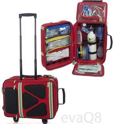 Medical Equipment Bag Wheeled Backpack Be Prepared