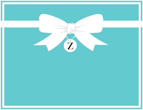 Tiffany Co Inspired Tiffany Blue Personalized Bow Up To