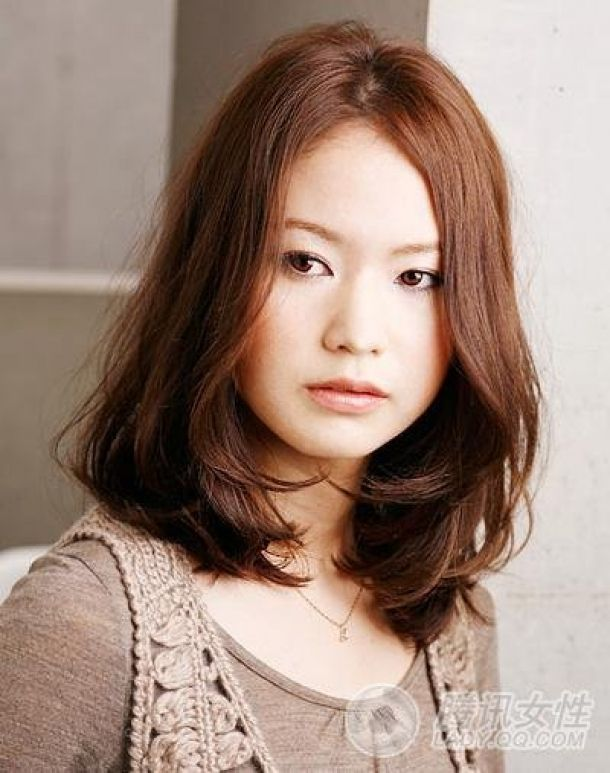 Sweet Feminine Japanese Women Hair Styles Asian Asian Hair Medium Hair Styles Blowdry Styles