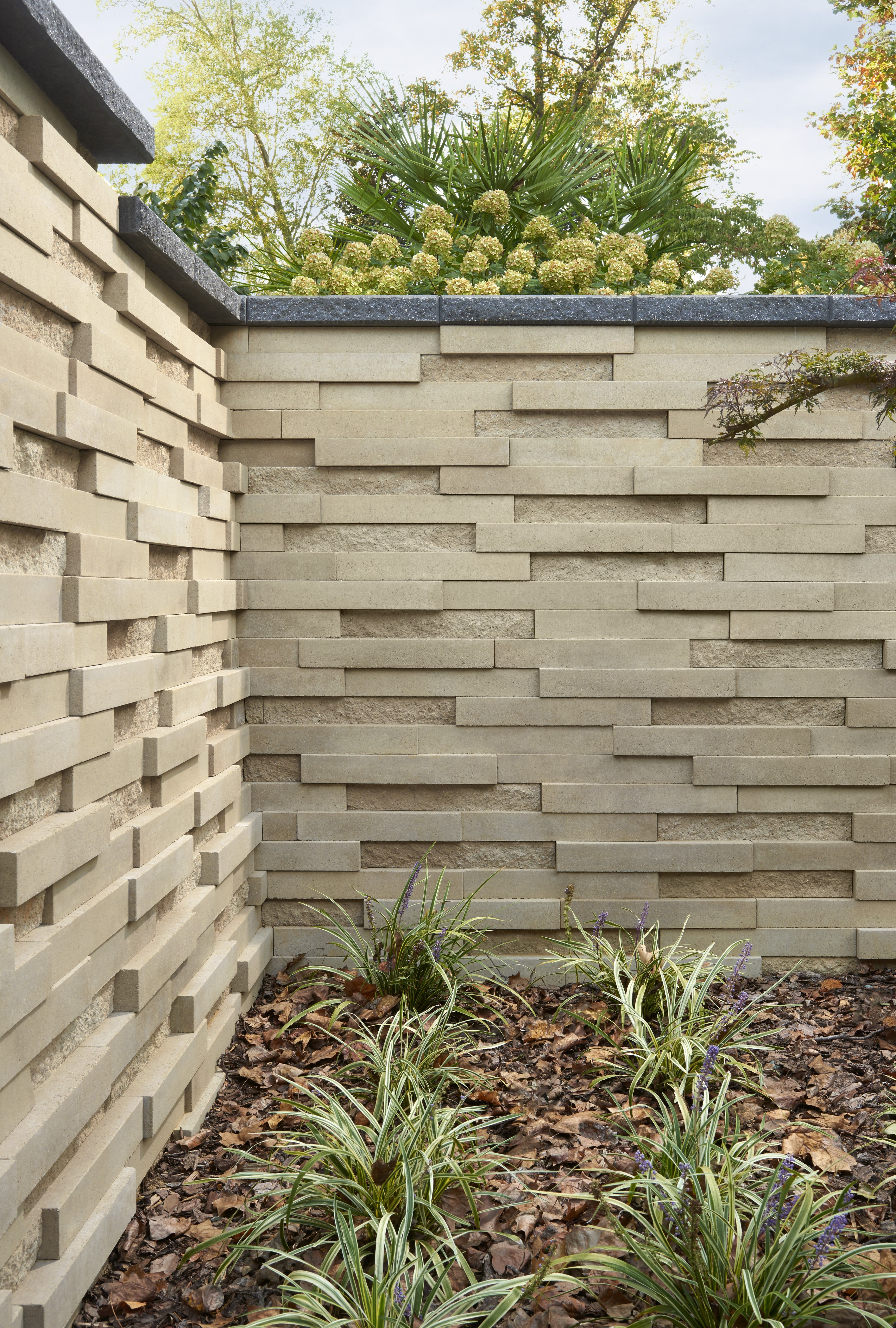 This Backyard Landscape Design Is Inspired By Our Graphix Wall