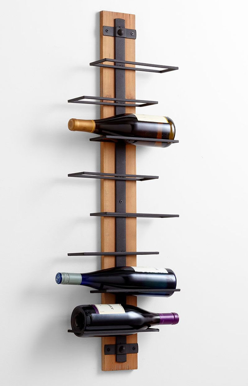Support A Bouteille De Vin Mural 13 wine bottle storage ideas for your stylish home | casiers