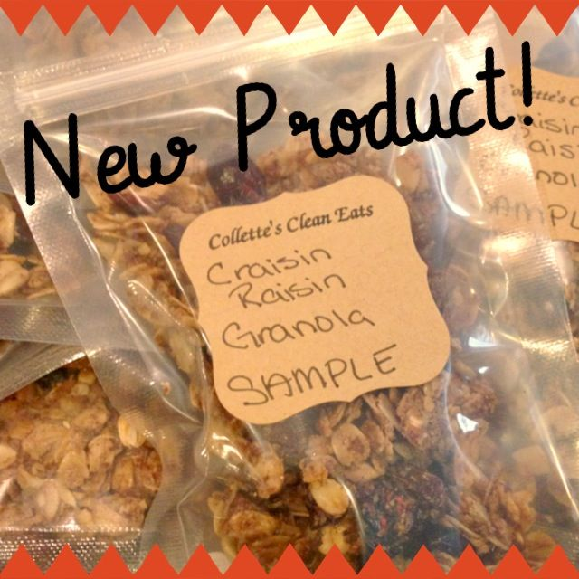 Craisin Raisin Granola from CCEat's $5 for 8oz bag!