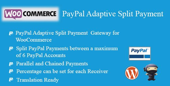 Woocommerce Paypal Adaptive Split Payment Woocommerce Paypal Payment