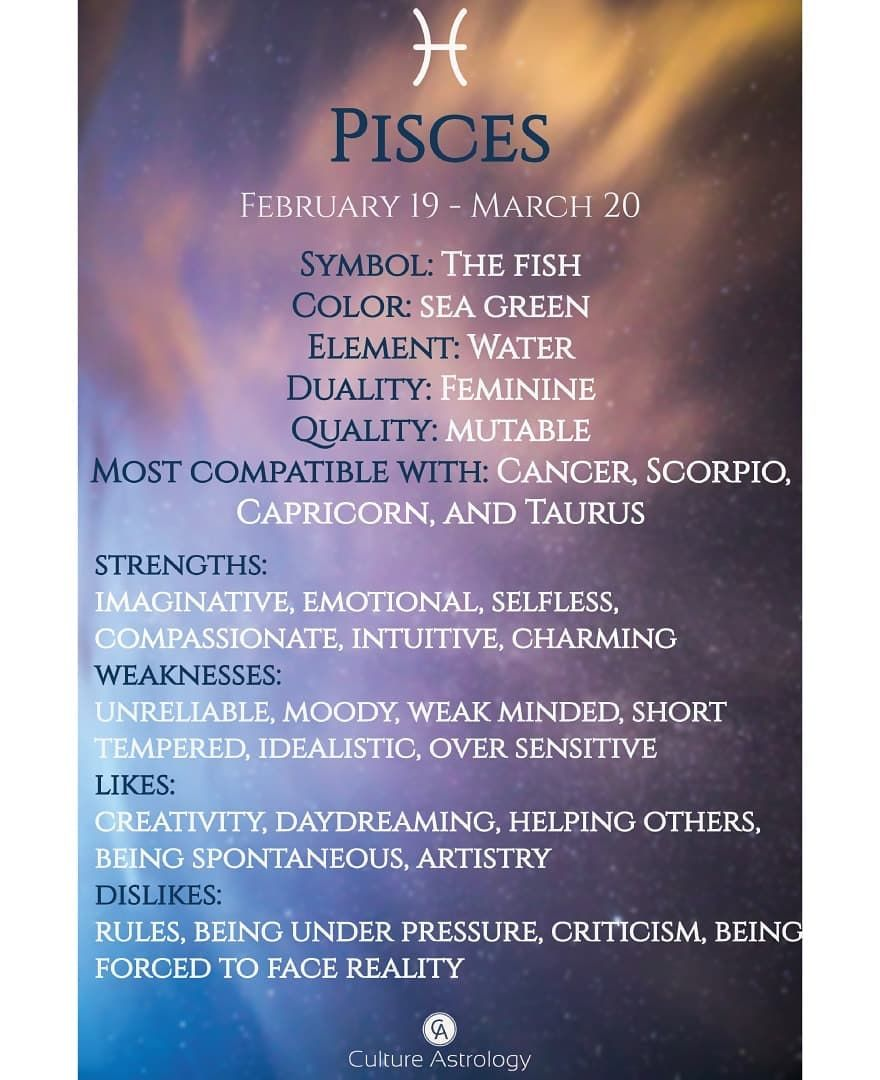 define a pisces horoscope