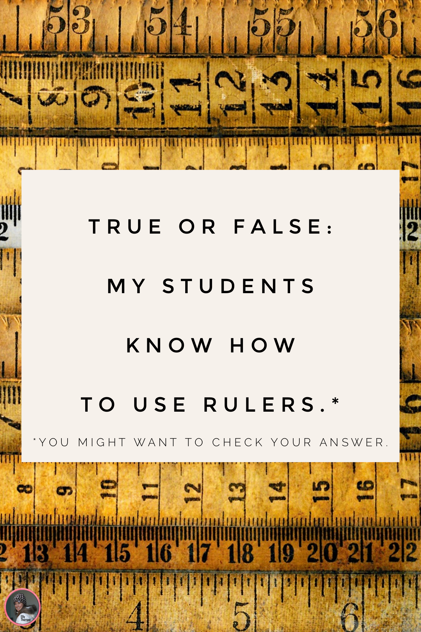 Why Pre Assessments Are Always A Good Idea My Ruler Story