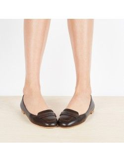 Françoise loafers in Brown leather