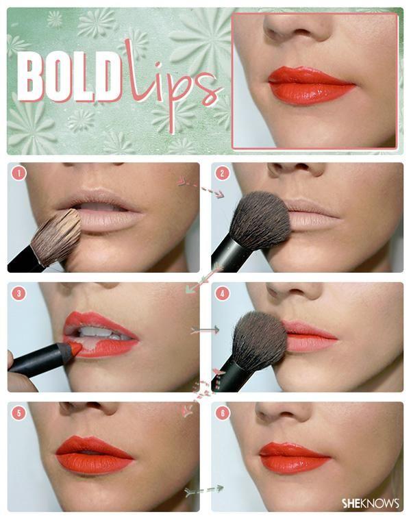 Makeup Basics - How to wear bold lipstick