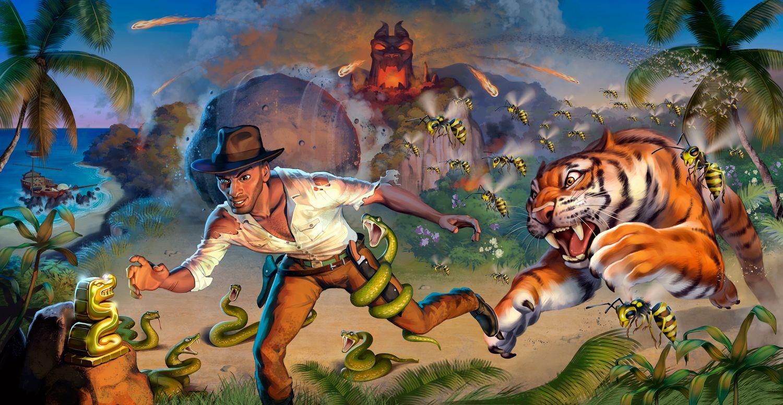 Last Adventurer Game Extension Game Play Fun Fireball Island