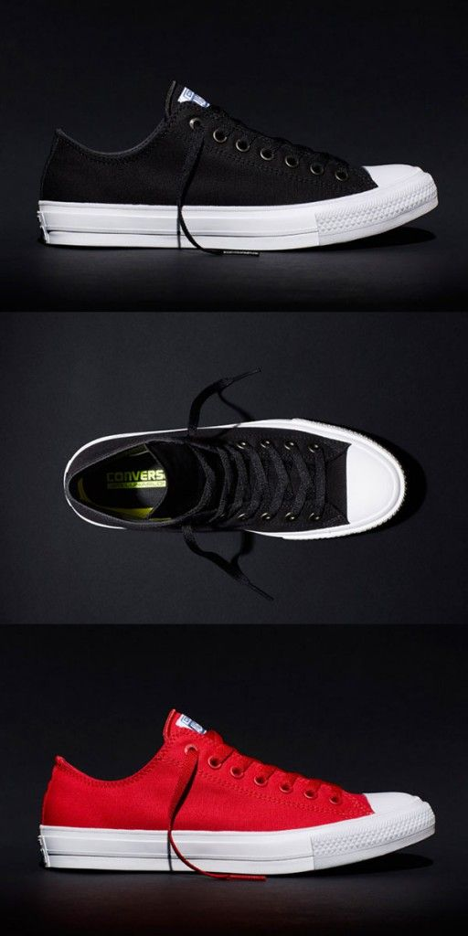 5cb2ab32413b Converse Redesigns 100-year old classic and Introduces the New Chuck Taylor All  Star II
