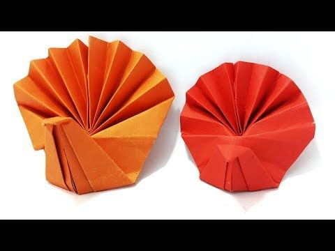 Origami Turkey Instructions How To Make Paper Turkey Simple