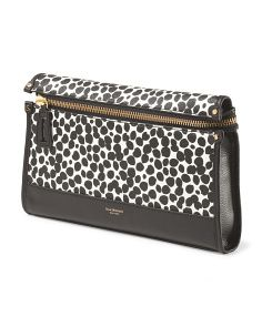 image of Leather Joanne Dots Clutch