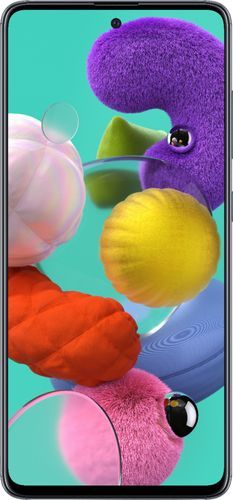 Samsung - Galaxy A51 with 128GB Memory Cell Phone (Unlocked) - Prism Crush Black