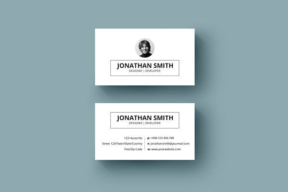 Minimal business card v03 templates simple and minimal business card minimal business card v03 templates simple and minimal business card template photoshop psd format reheart Choice Image
