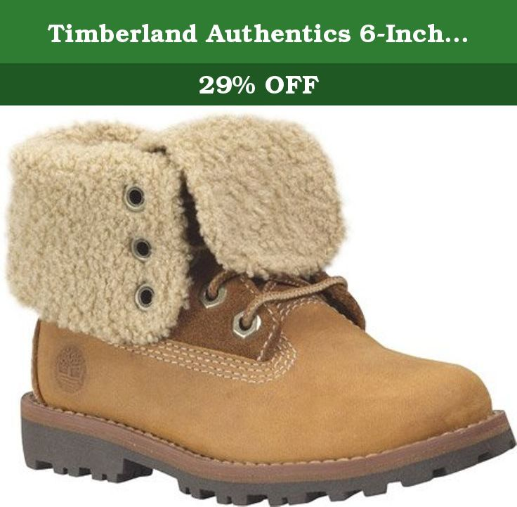 timberland 6 inch shearling fold down boot