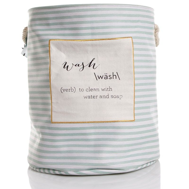 """Wash Definition 22"""" Round Canvas Hamper (With Images"""