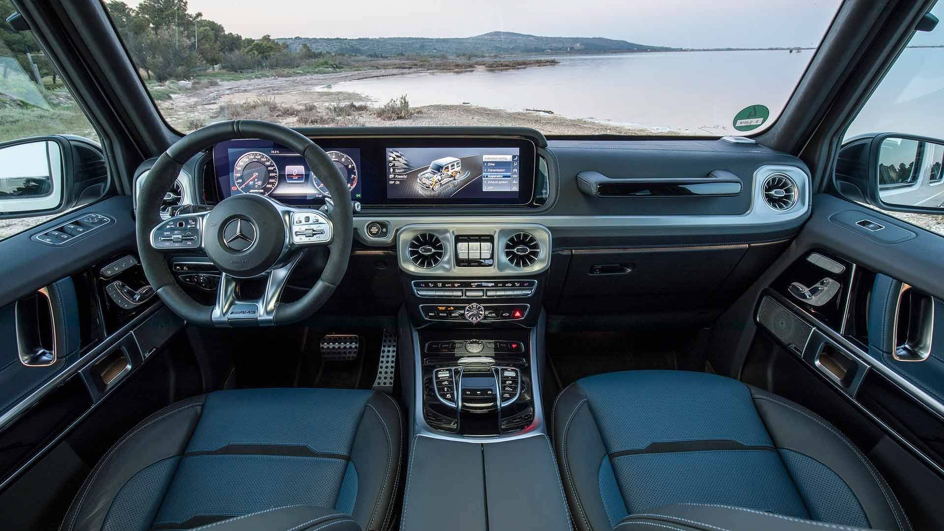 2019 Mercedes Amg G63 First Drive Motor1 Com Photos Mercedes