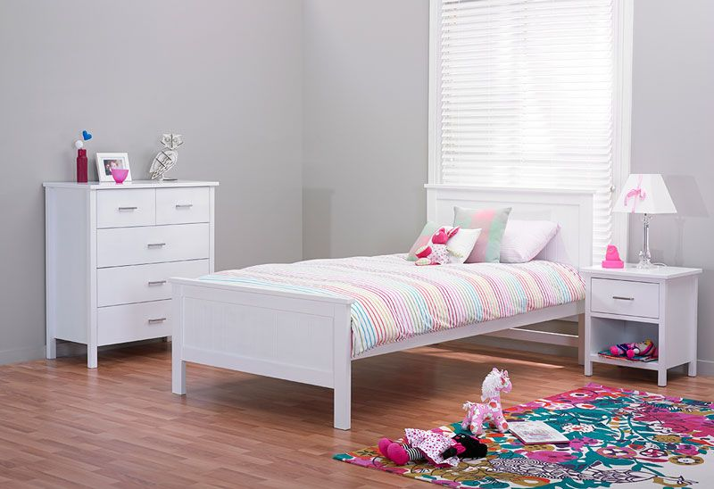 Best Hawaii White Sml Furniture Bed Slats Bed 640 x 480